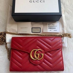 Authentic Gucci crossbody WOC